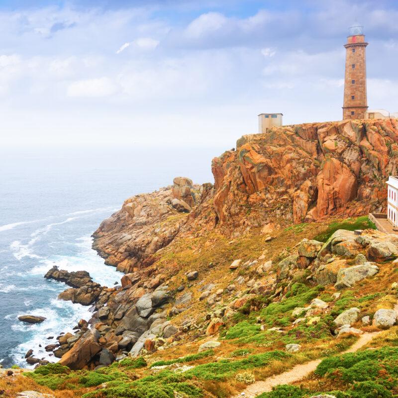 Cabo Vilan in Galicia, Spain.