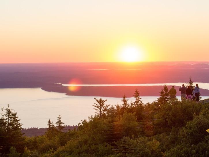 Cadillac Mountain Acadia National Park, Maine