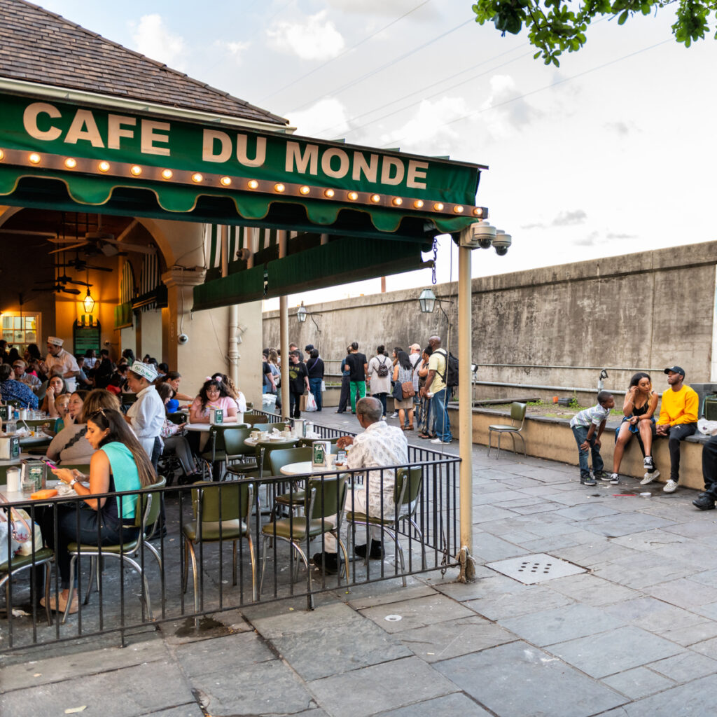 Cafe Du Monde.