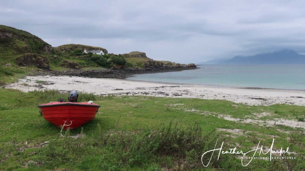Cairidh Bay on the Isle of Muck.