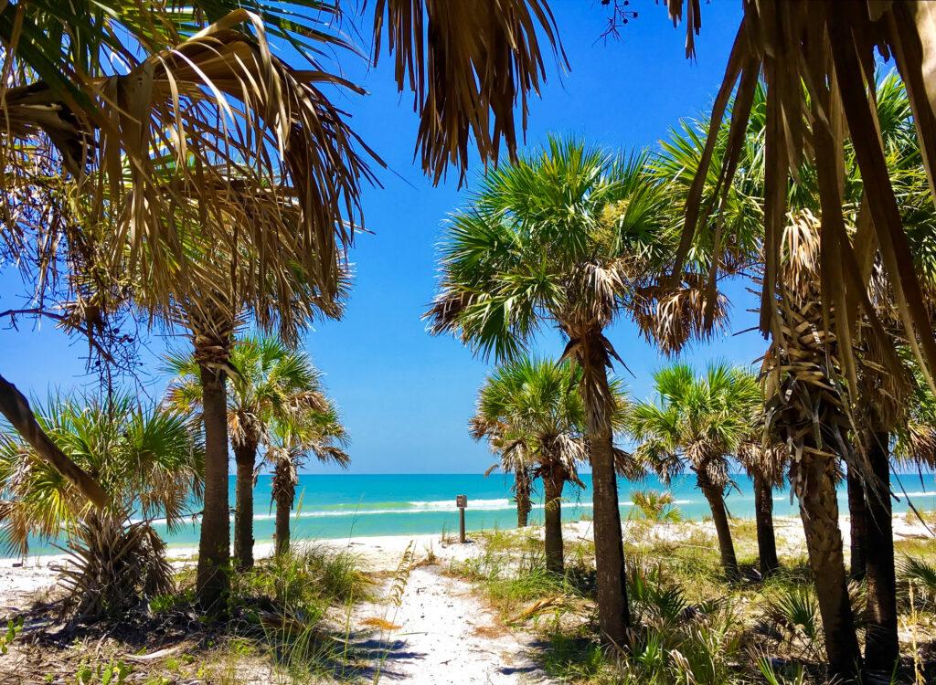Caladesi Island State Park in Florida