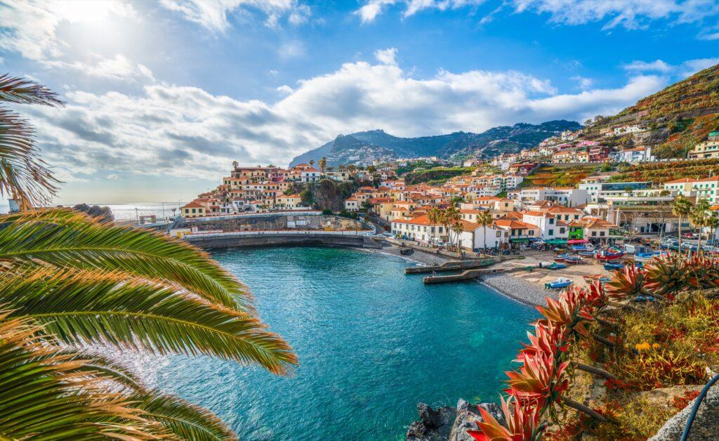 Camara de Lobos in Madeira, Portugal.