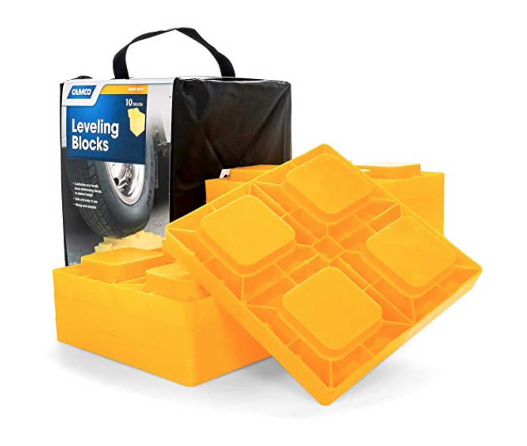 Camco Heavy Duty Leveling Blocks.