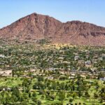 Camelback Mountain in Phoenix, Arizona.
