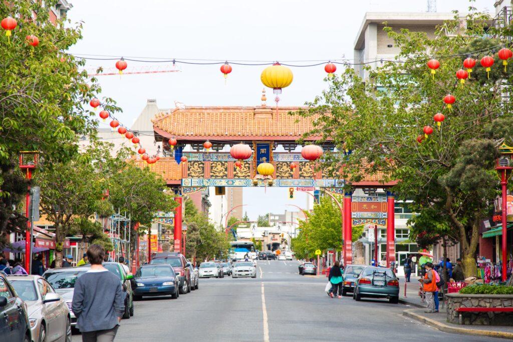 Canada's oldest Chinatown in Victoria.