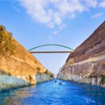 Canal of Corinth, Greece.