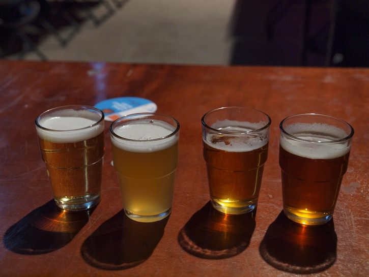 cañas, or small beers