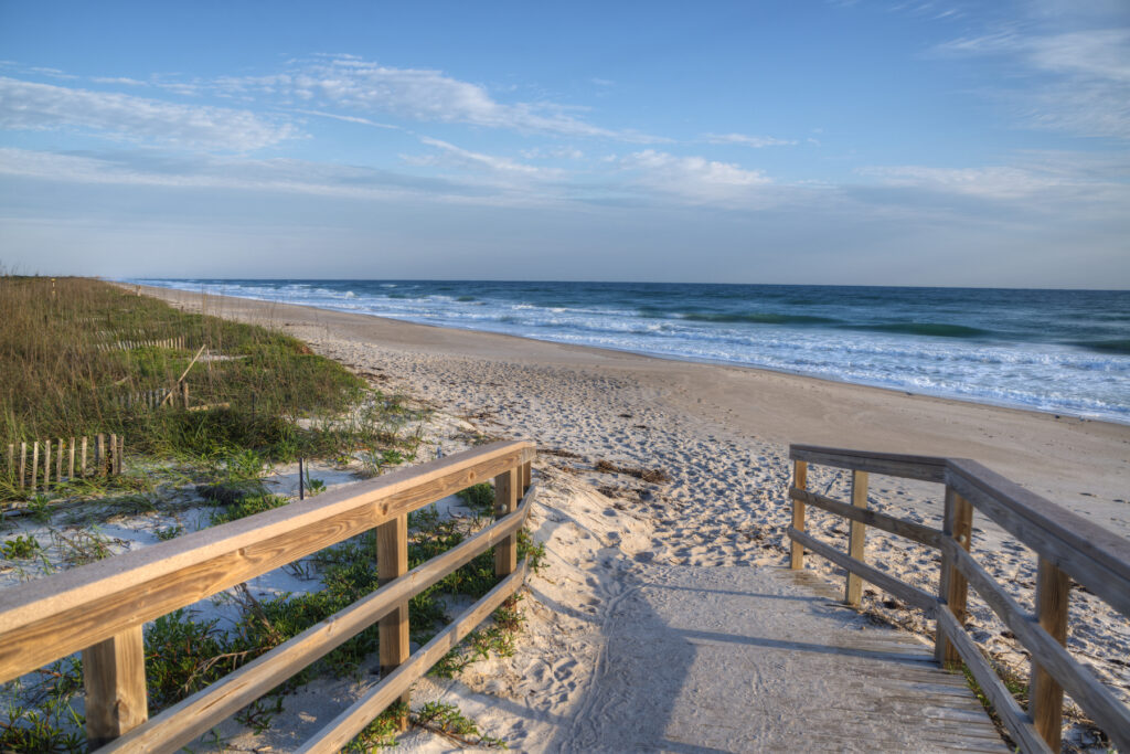 Canaveral National Seashore in Florida.