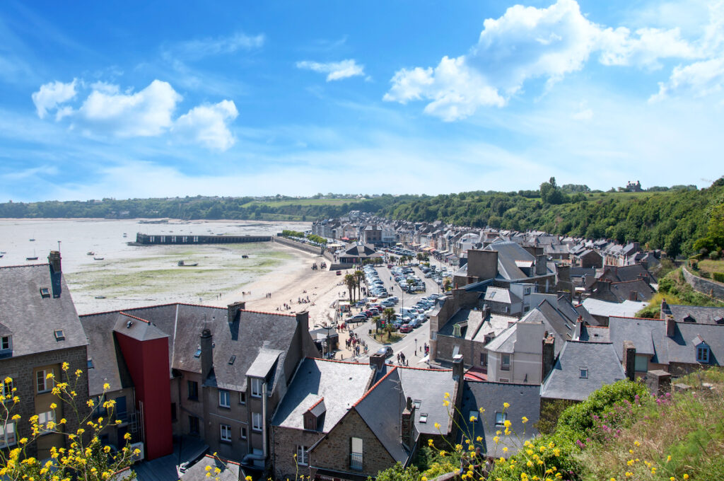 Cancale in Brittany, France.