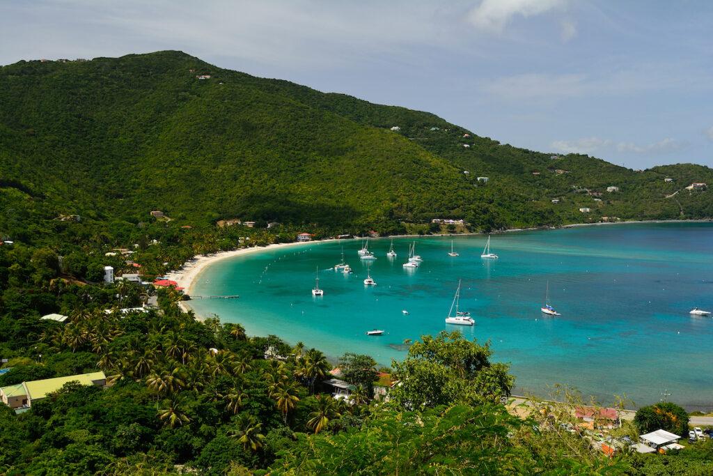 Cane Garden Bay in Tortola.