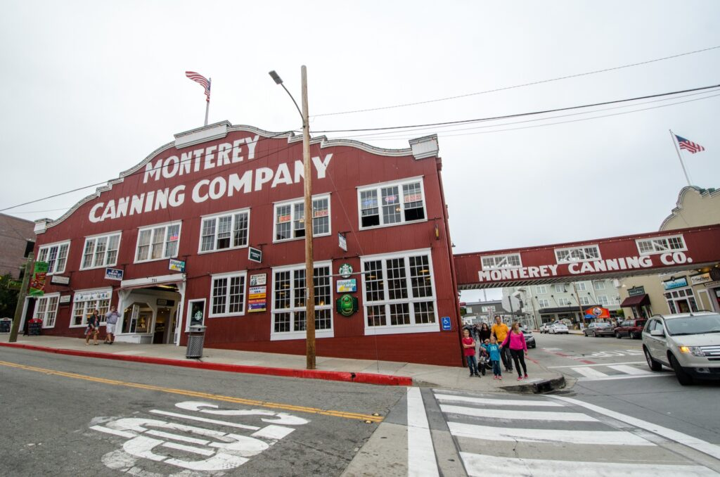Cannery Row in Monterey.
