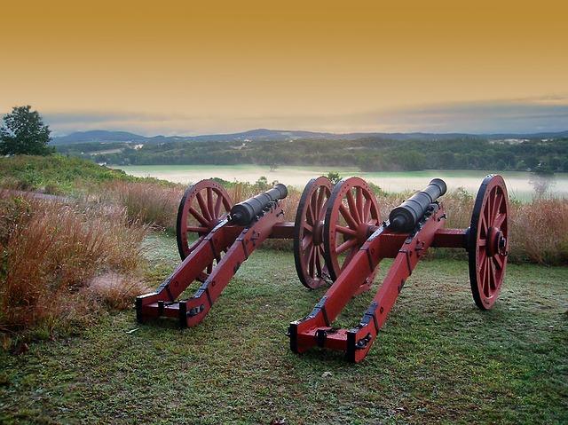 Cannons in Antietam