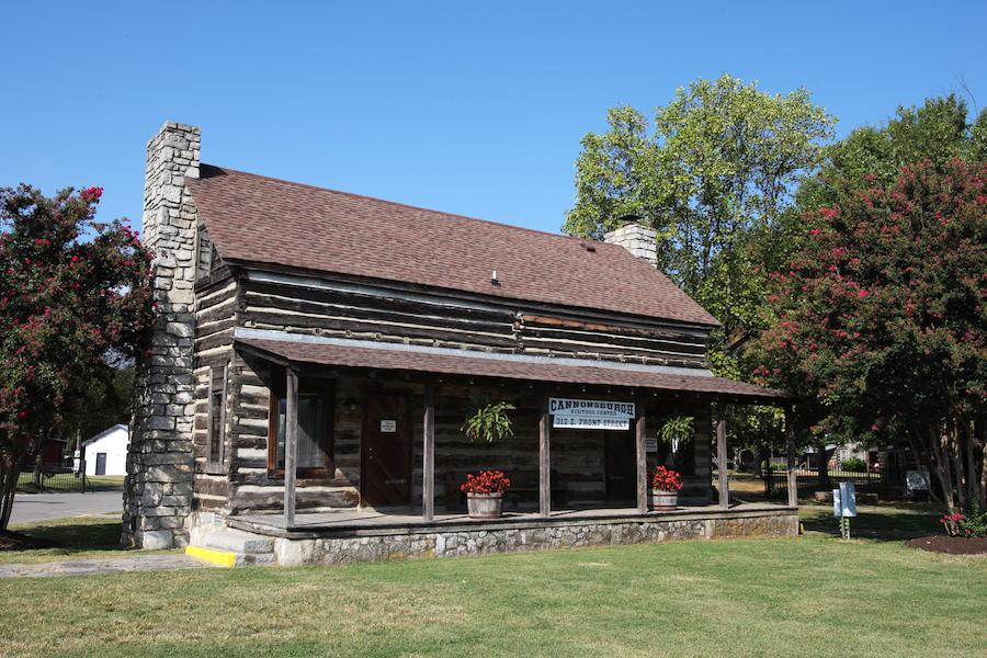 Cannonsburgh Village in Murfreesboro, Tennessee.