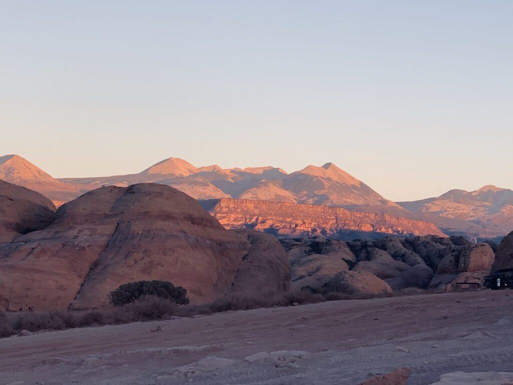 Canyon views in Moab, Utah.