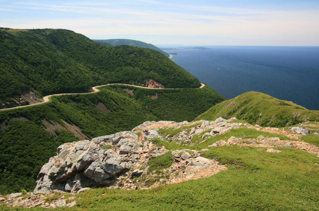 Cape Breton Highlands National Park near Cheticamp.