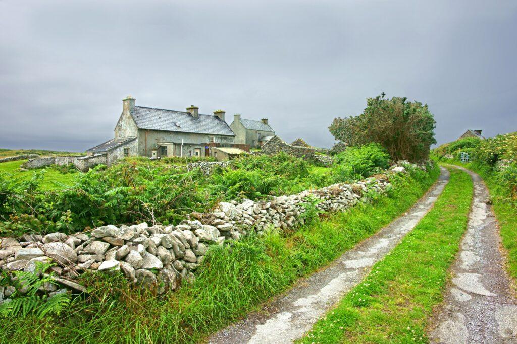 Cape Clear Island in Ireland.