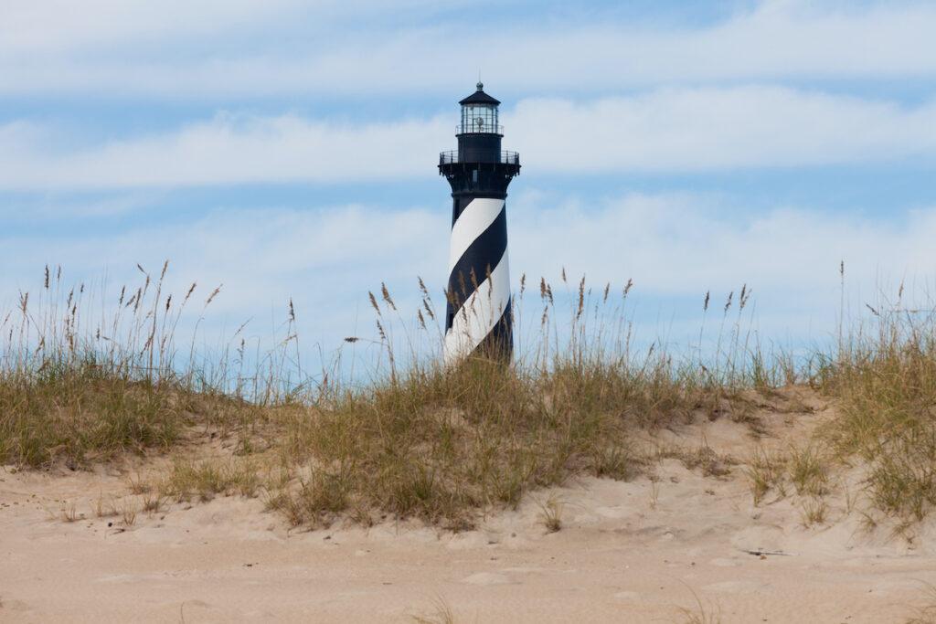 Cape Hatteras National Seashore in North Carolina.