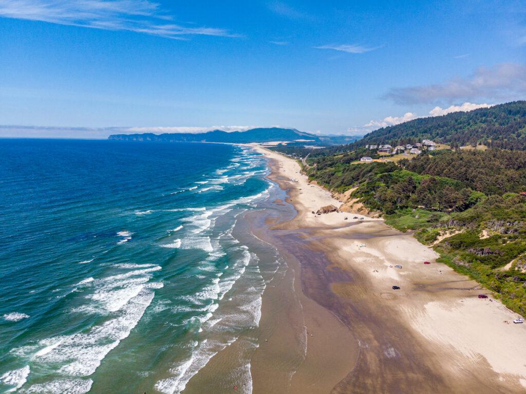 Cape Kiwanda along the coast of Oregon.