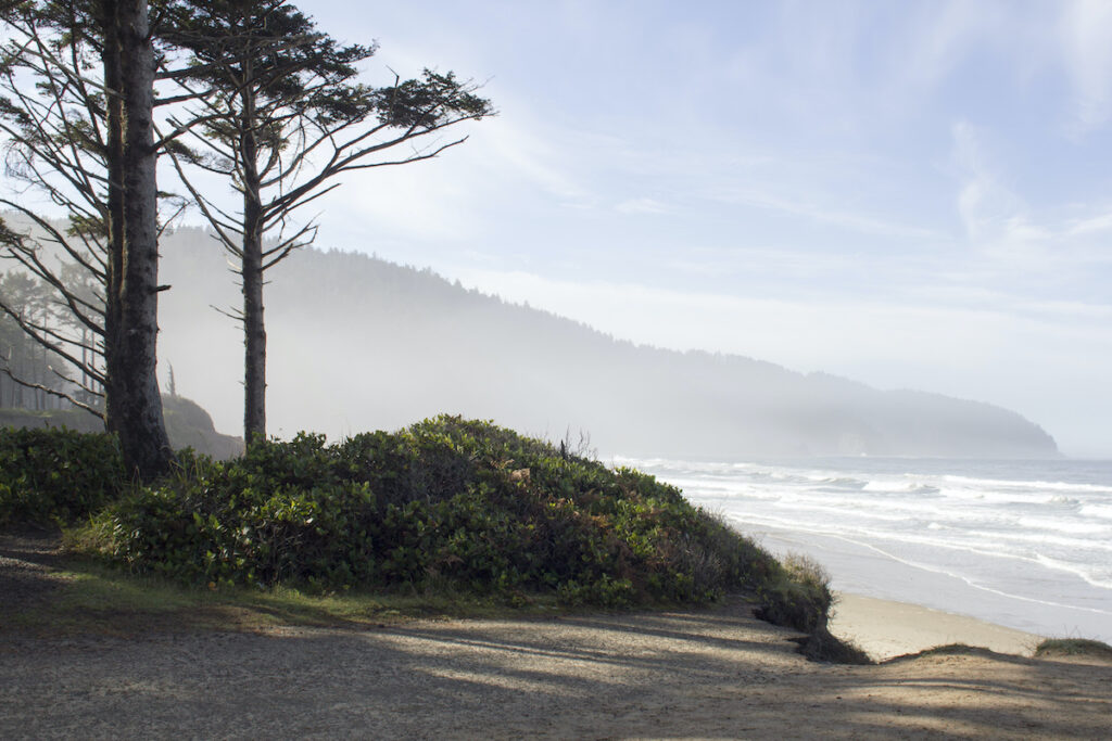 Cape Lookout State Park in Oregon.