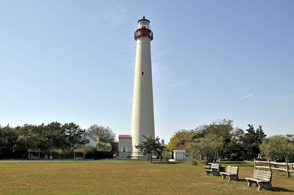 Cape May Lighthouse in New Jersey.