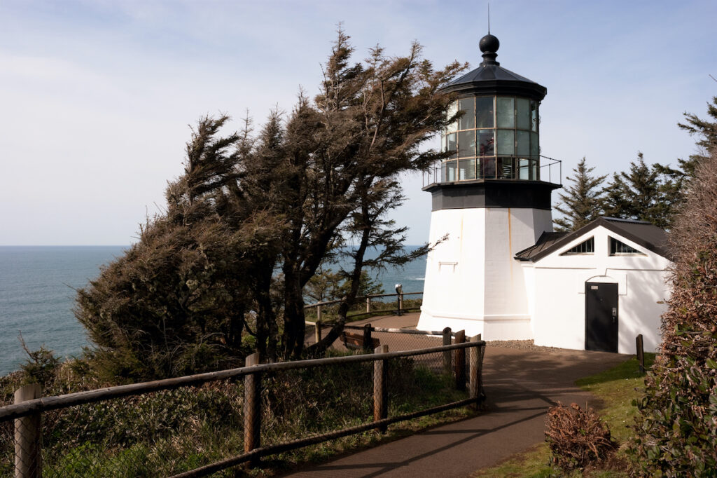 Cape Meares Lighthouse in Oregon.