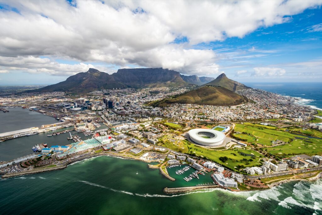 Cape Town in South Africa.