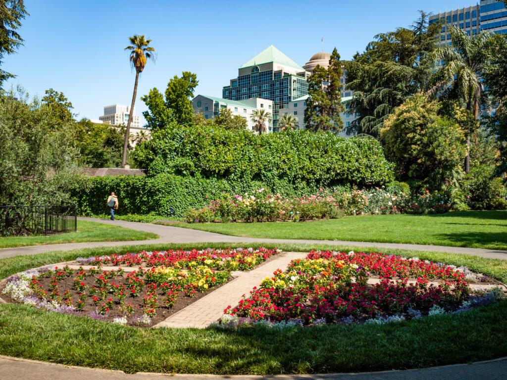 Capitol Park in Sacramento, California.