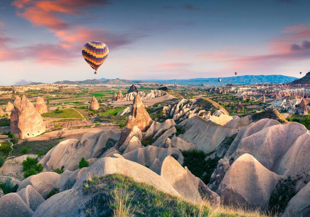 Cappadocia in Turkey.
