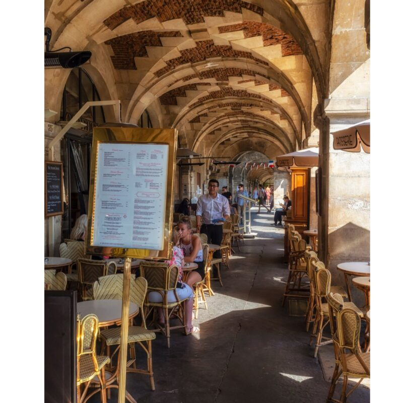 Carette Cafe Restaurant in Paris, France.