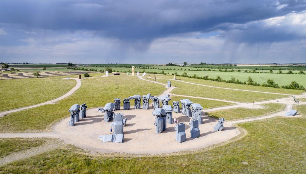 Carhenge in Alliance, Nebraska.