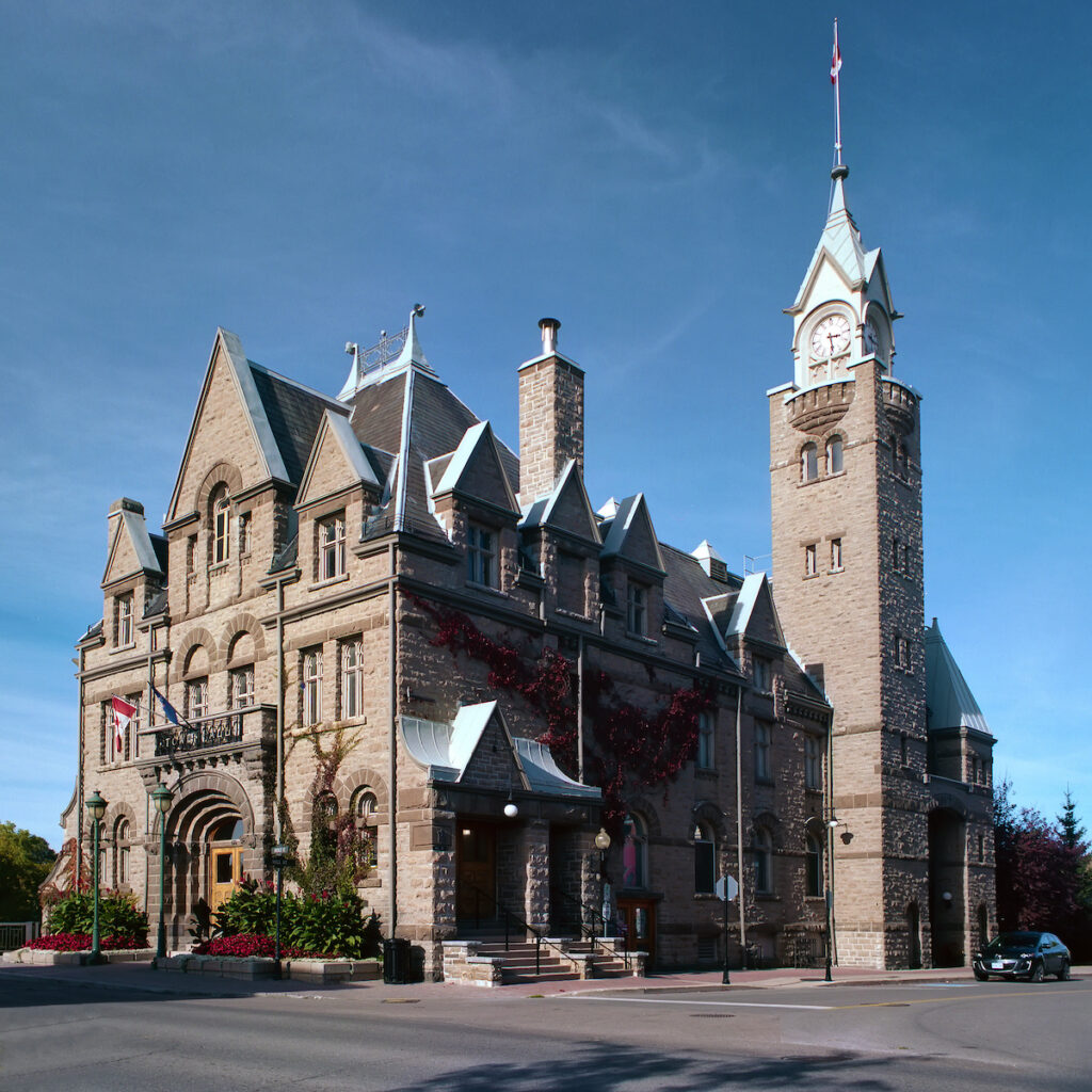Carleton Place Town Hall in Almonte, Ontario.