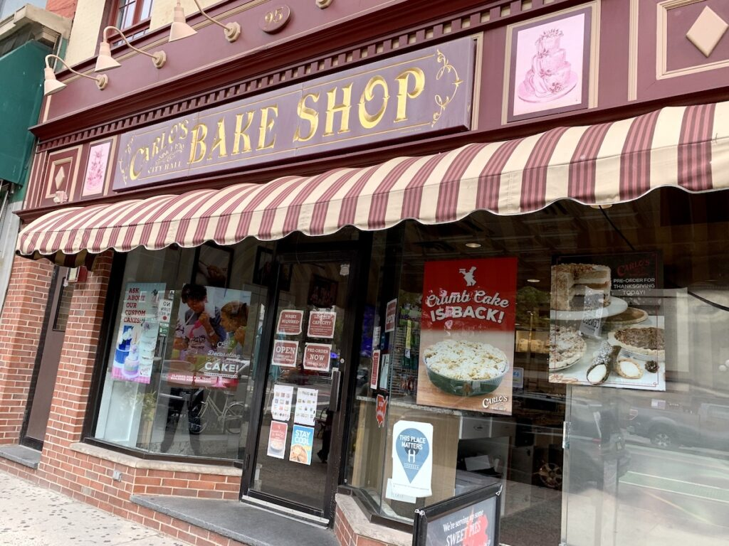 Carlo's Bakery in Hoboken.
