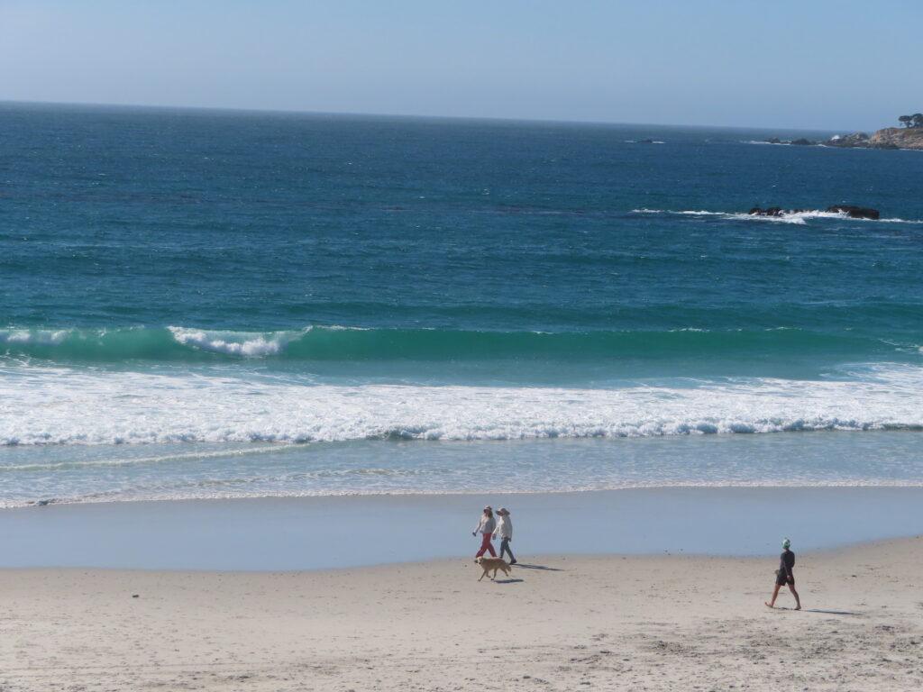Carmel Beach in California.