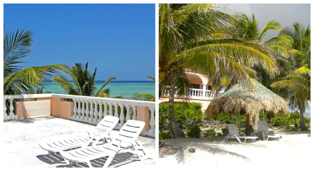Casa de Coral, a beach rental in Xcalak, Mexico.