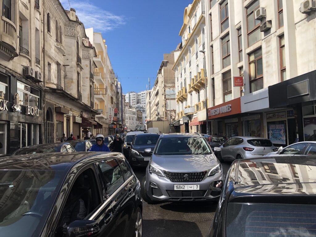 Casablanca traffic.