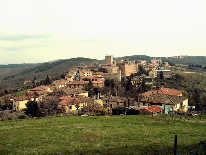 Castellina hill, Tuscany