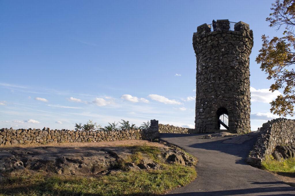 Castle Craig in Meriden's Hubbard Park.