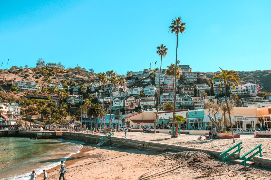 Catalina Island in California.