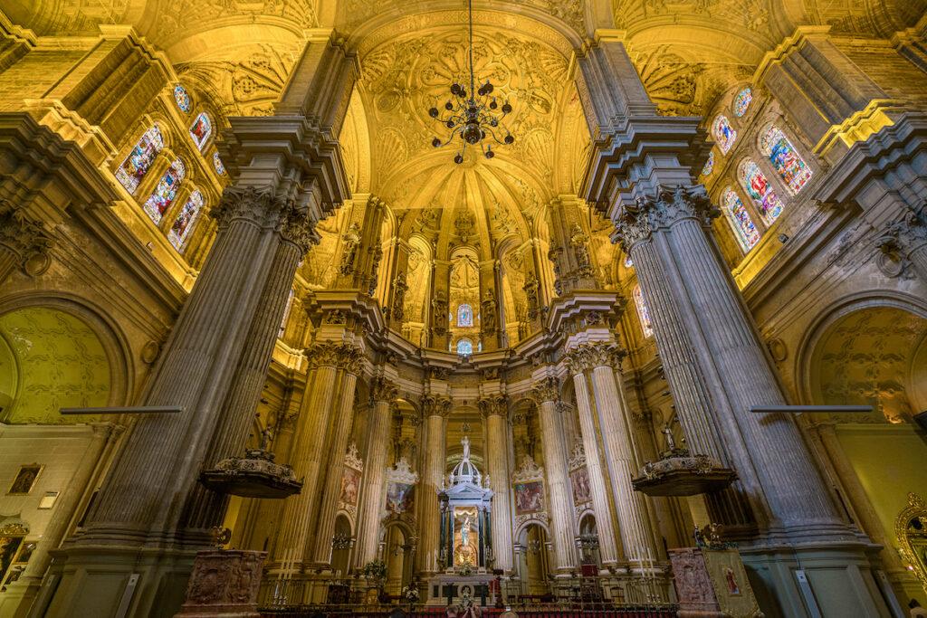 Catedral De La Encarnacion De Malaga.