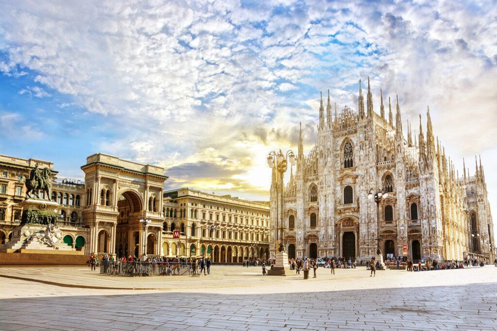 Cathedral Duomo di Milano in Milan.