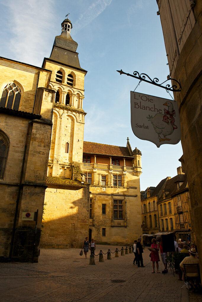 Cathedral Saint-Sacerdos in Sarlat-la-Caneda, France.