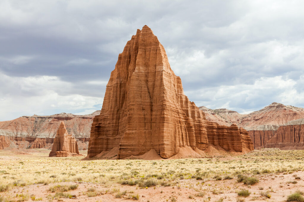 Cathedral Valley in Capitol Reef National Park, Utah.