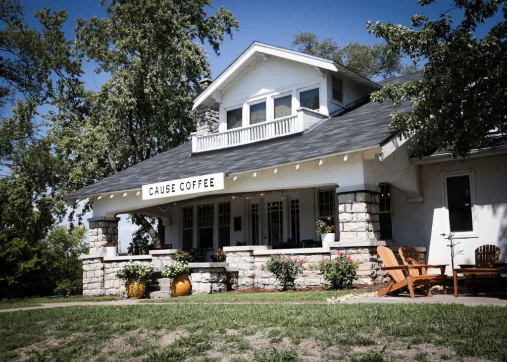 Cause Coffee in De Soto, Kansas.