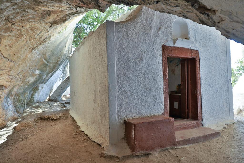 Cave of Pythagoras in Samos, Greece.