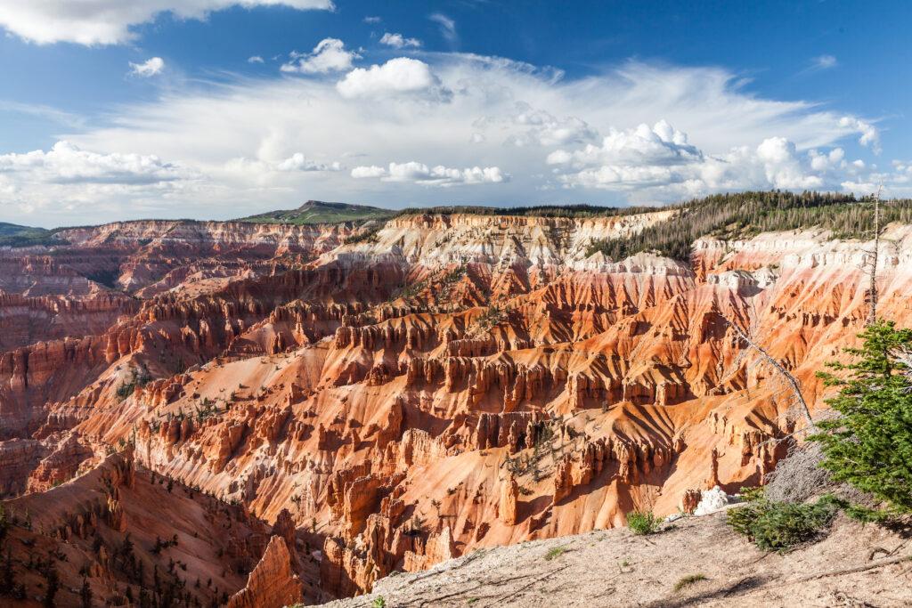 Cedar Breaks National Monument in Utah.