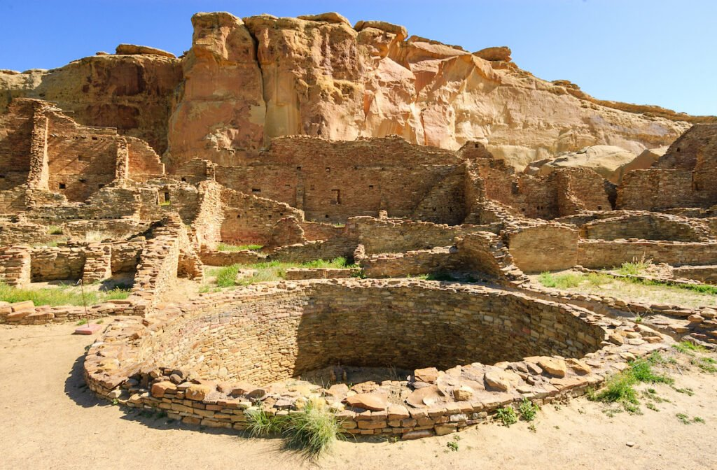 Chaco Culture National Historical Park in New Mexico.