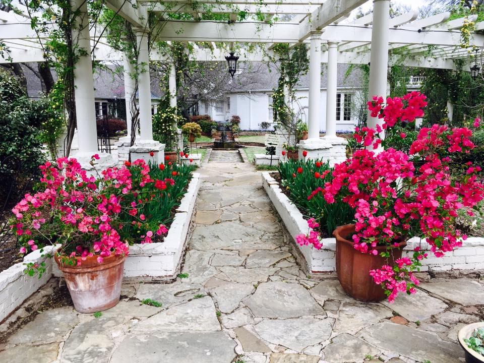 Chandor Gardens, Weatherford, Texas.