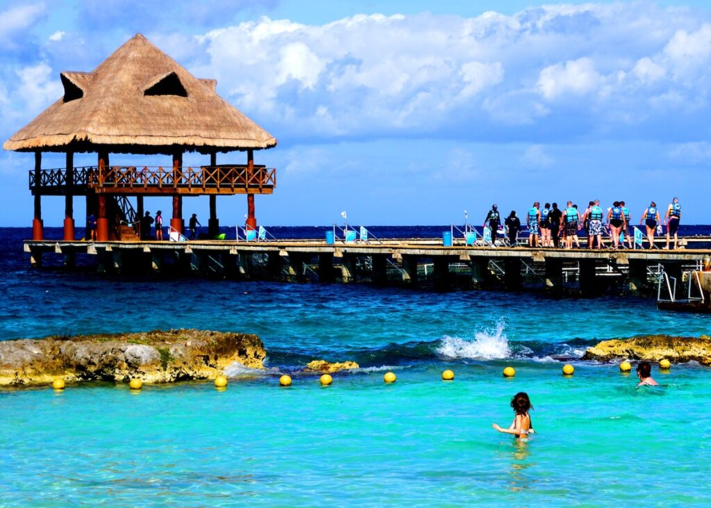 Chankanaab Adventure Beach Park in Cozumel.