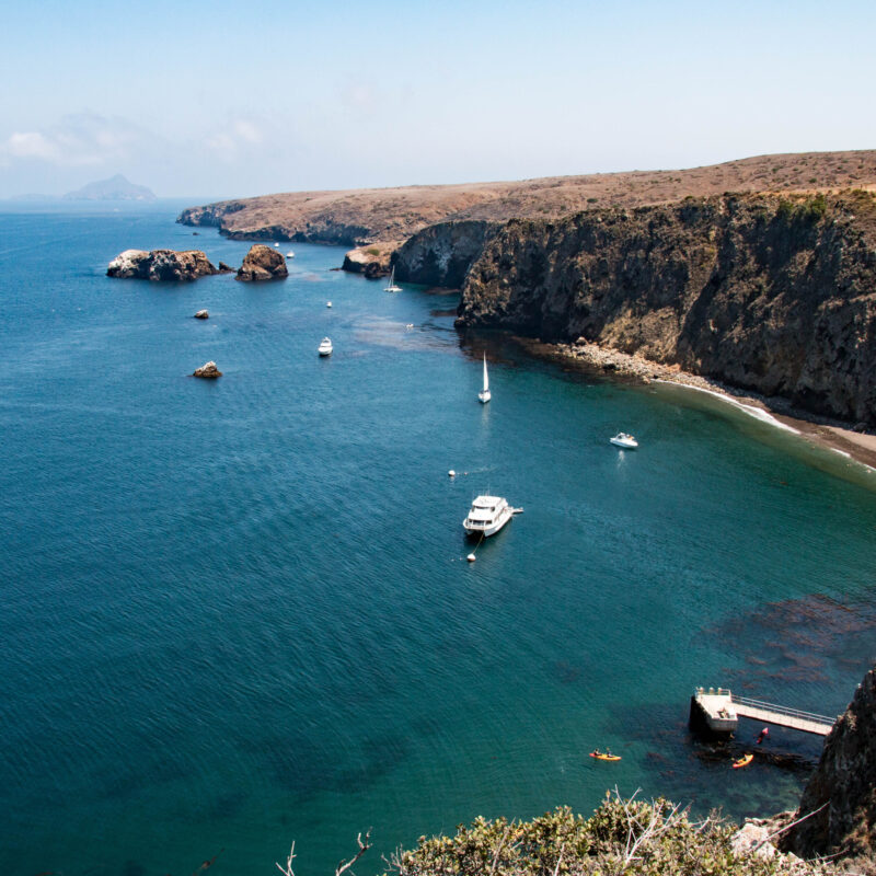 Channel Islands National Park off the coast of California.