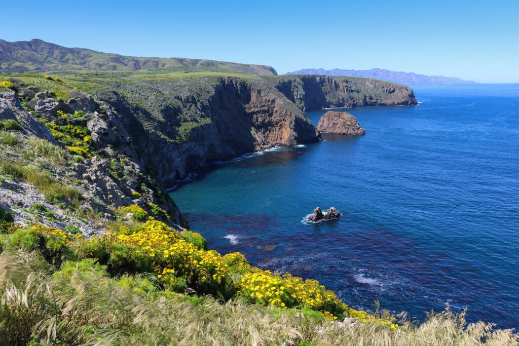 Channel Islands National Park in California.